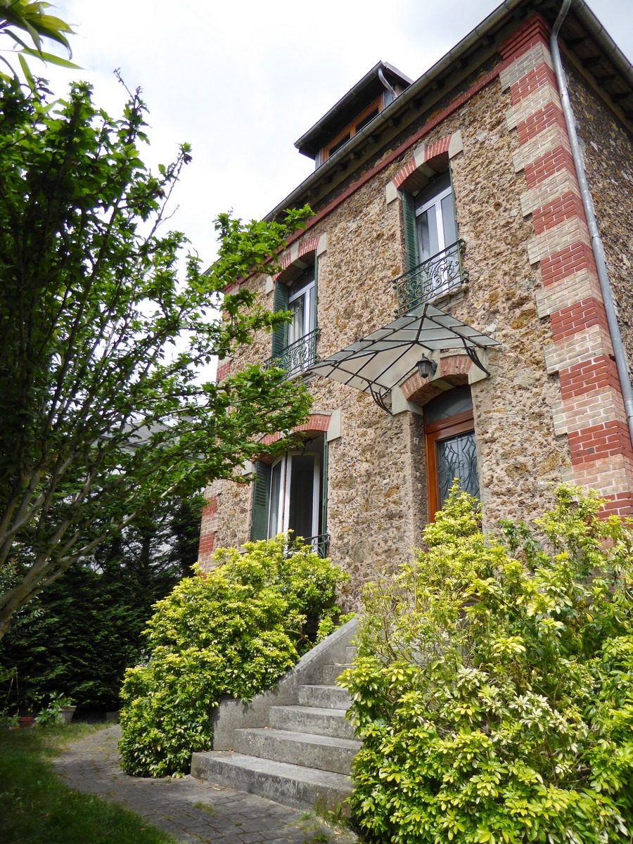 Paris prend l 39 air agence immobiliere - Jardin avec terrasse et bassin aulnay sous bois ...